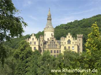 burg arenfels der romantische rhein reisef hrer touristinformation hotels restaurants. Black Bedroom Furniture Sets. Home Design Ideas